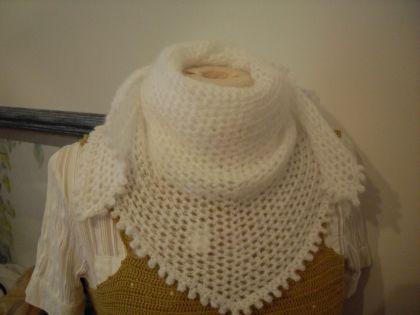 echarpe blanche