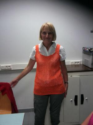 travail à l`atelier tricot